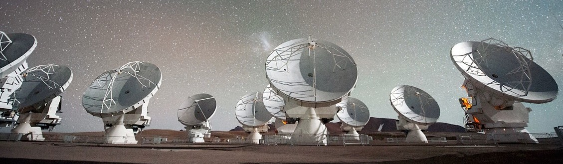 The Atacama Large Millimetre Array (ALMA). Image credit: ESO/C. Malin