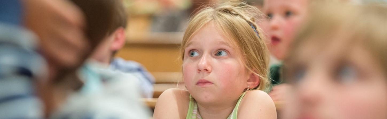 Foto: Volker Lannert (bei der Kinderuni im Juni 2013)