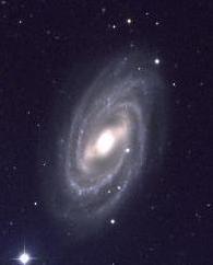 Spiralgalaxie M109 schräger Ansicht